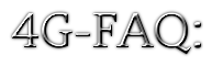 Логотип сайта 4g-faq.ru