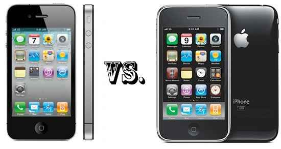 iphone-4-vs-3gs1 iPhone 5 LTE и iPad 3 LTE выйдут в 2012 году