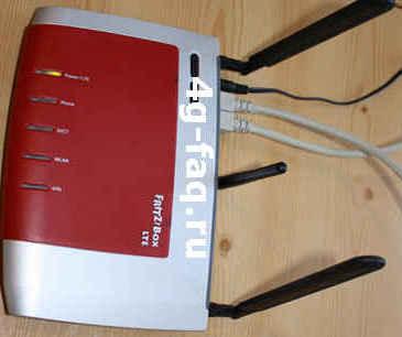 FritzBox-6840. Q2  тест сети LTE в Германии.