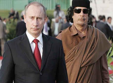 Putin_Kaddafi Зачем Путин пошел по пути Каддафи?