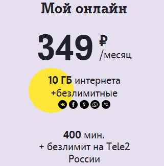 My_Onlain Новые тарифы Tele2 2017