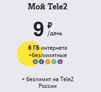 My_Tele2 Новые тарифы Tele2 2017